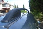 Рейлинги алюминиевые Crown Black для Fiat Doblo 2001-2009 (Can-Otomotive, FIDO.73.0598)