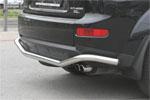 "Защита заднего бампера ""Mitsubishi Outlander XL"" 2006- d 60 ""волна"" (Союз-96, MIOU.75.0483)"