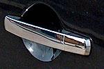 Хром-накладки на ручки дверей Nissan Qashqai 4шт (NISQ760)