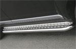 "Пороги с листом ""Mitsubishi Outlander XL"" 2006- d 60 (компл 2шт) (Союз-96, MIOU.82.0481)"