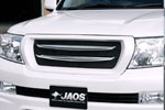 Решетка радиатора с хромированными вставками Toyota LC 200 07- (Jaos, B061048A)