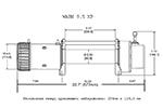Лебедка электрическая WARN 9,5XP (WARN, 86500)