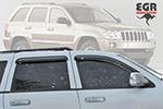 Дефлектор окон  Jeep Grand Cherokee 2005- (EGR, 92425009B)
