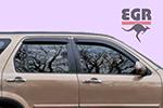 Дефлектор окон Honda CR-V 2002- (EGR, 92434015)