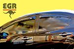 Дефлектор окон Honda Civic 4DR 2006- (EGR, 92434021B)