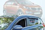 Дефлектор окон Kia Sportage 2010- (EGR, 92441010B)