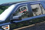 Дефлектор окон Land Rover Freelander 2007- (EGR,  92446011B)