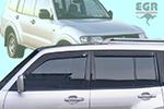 Дефлектор окон Mitsubishi Pajero 2000- (EGR, 92460022B)