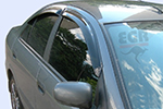 Дефлектор окон Nissan Almera 2001- (EGR, 92463007B)