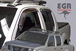 Дефлектор окон Nissan Navara 2005- (EGR, 92463026B)