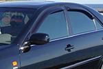 Дефлектор окон Toyota Camry 2002- (EGR, 92492045B)