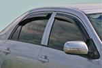 Дефлектор окон Toyota Corolla 2007- (EGR,  92492060B)