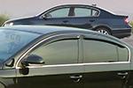 Дефлектор окон VW Passat B6 2006- (EGR, 92496018B)