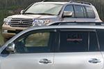Дефлектор окон Toyota Land Cruiser 200 2007- (EGR, 93492061B)