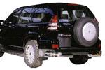 Чехол запаски 265/65 R17 для TOYOTA PRADO 2003-2006 (Winbo, G17)