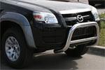 Решетка передняя Mazda BT-50 2007 d 76 мини низкая (Союз-96, MABT.56.0464)