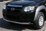 Защита переднего бампера Mazda BT-50 2007 d 76 (труба) (Союз-96, MABT.48.0465)