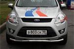 Защита переднего бампера Ford Kuga d 60 (Союз-96, FKUG.48.0672)