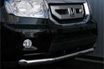Защита переднего бампера Honda Pilot 2008 d 76 (Союз-96, HPIL.48.0717)