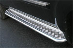 Пороги c листом Honda Pilot 2008 d 42 (компл 2шт) (Союз-96, HPIL.82.0719)