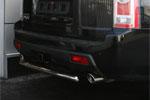 Защита заднего бампера Honda Pilot 2008 d 60 короткая (Союз-96, HPIL.75.0723)