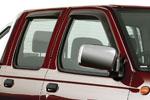 Дефлекторы окон Volkswagen Amarok 2010- (EGR, 92496023B)