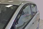 Дефлектор окон Nissan Tiida 2007- (EGR, BRTIIDASW)