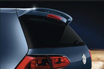 Задний спойлер для Volkswagen Golf VII (5D) 2012+ (S-Line, SPZ-VWGOLFVII01)