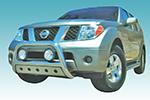 Дуга передняя (кенгурятник) для Nissan Pathfinder 2005- (U-Drive, A02G1200)