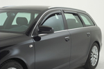 Ветровики (дефлекторы окон) для Audi Q7 2006- (Climair, CLI0033464/CLI0044086)