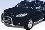 Дуга передняя (кенгурятник) для Hyundai Santa Fe 2006- (Power Ful, HT-A06101)