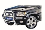Защита переднего бампера (кенгурятник) Jeep Grand-Cherokee 1999- (Winbo, A080006)
