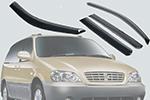 Дефлекторы окон Kia Carnivel 2006- (AUTOCLOVER, A088)