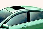 Дефлекторы окон CHEVROLET AVEO SDN 2008(AUTOCLOVER, A089)
