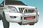Защита переднего бампера (кенгурятник) Toyota LC Prado 120 (Winbo, А091613)