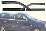 Дефлекторы окон Kia Carens 2006- (AUTOCLOVER, A096)