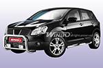 Дуга передняя (кенгурятник) для Nissan Qashqai 2007-(Winbo, A111142)