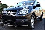 Защита переднего бампера (дуга) для Nissan Qashqai 2007- (Winbo, A111191)