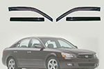 Дефлекторы окон Hyundai Sonata  2009- (AUTOCLOVER, A117)