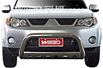 Дуга передняя (кенгурятник) для Mitsubishi Outlander 2007- (Winbo, A125209)