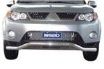 Защита переднего бампера Mitsubishi Outlander 2007- (Winbo, A125227)