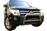 Защита переднего бампера (кенгурятник) Mitsubishi Pajero 2007- (Winbo, A126142)