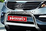 Дуга передняя (кенгурятник) для Kia Sportage 2010- (Winbo, A161203)