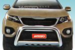 Дуга передняя (кенгурятник) для Kia Sorento 2010- (Winbo, A162510)
