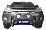 Защита переднего бампера (кенгурятник) Great Wall Hover (Winbo, A240651)