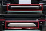 Накладки на передний и задний бамперы для BMW X5 (F15) 2014+ (Kindle, HM-X5-B41/HM-X5-B42)