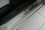 Накладки на внутренние пороги (нерж.) для Honda Accord IX 2013- (Nata-Niko, P-HO25)