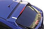 Спойлер на крышку багажника (dark blue) для SsangYong Actyon 2006-2011 (Kindle, SA-Y11)