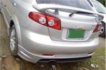 Юбка заднего бампера Chevrolet Lacetti HATCHBACK (Ad-Tuning, AdTun-CLHB033)