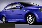 Аэродинамические накладки на пороги Chevrolet Lacetti (Ad-Tuning, AdTun-CL022)